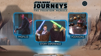 Star Wars Journeys Phantom Menace Opening
