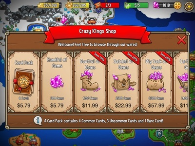 The Crazy Kings Shop