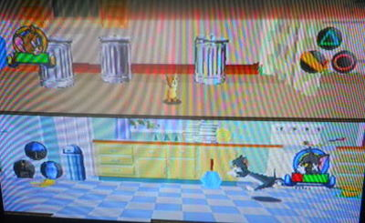 tom & jerry in mouse trap, ps1, playstation
