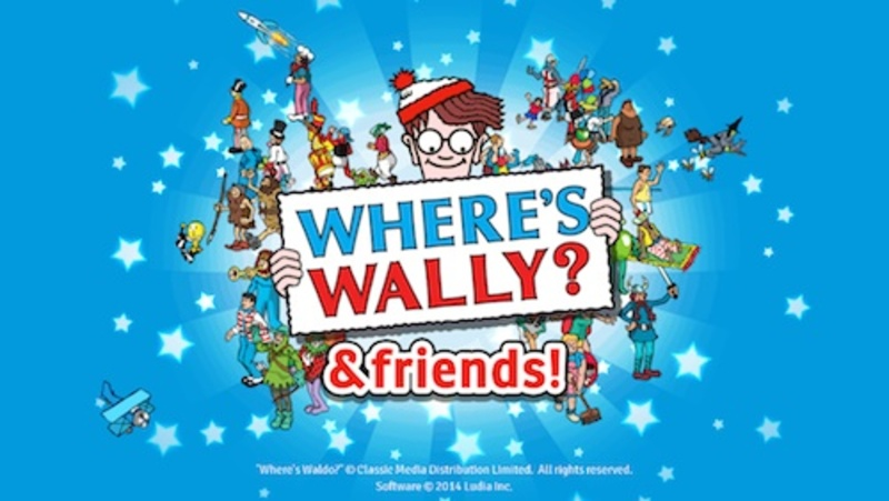 where's wally, wally & friends, android, iOS