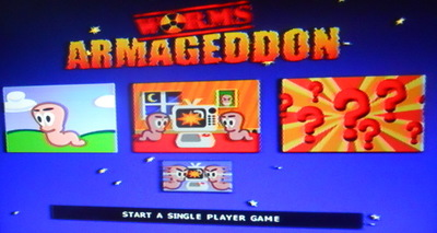 worms armageddon, ps1, playstation